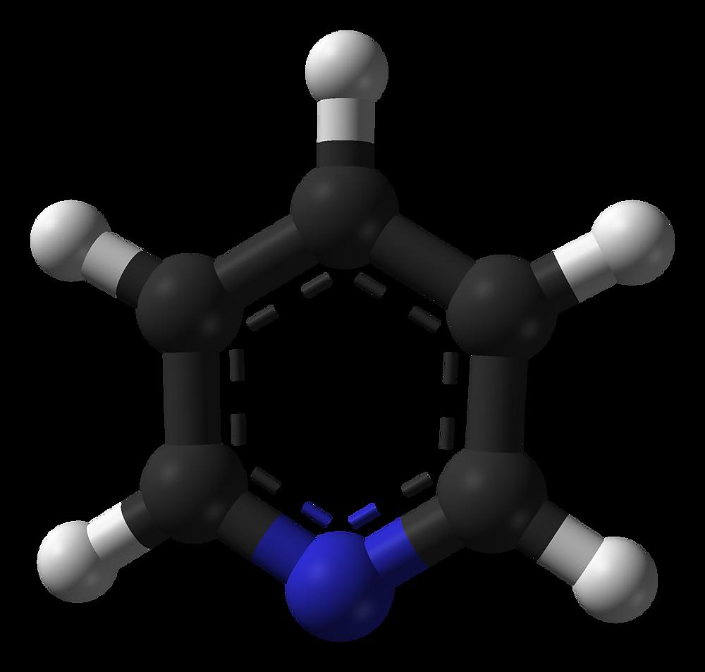 피리딘, pyridine, c5h5n, 헤테로방향족, 헤테로고리, 방향족성, heteroaromatic, heterocyclic, aromaticity, mfc