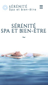 Populaires website templates – Le Spa