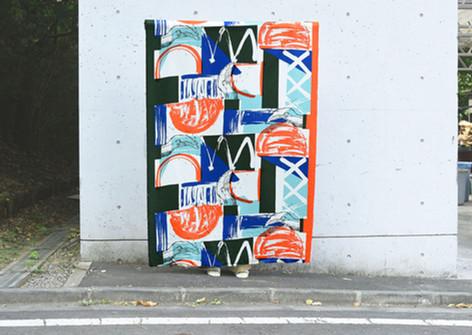YUMI YOSHIMOTO textile series 1