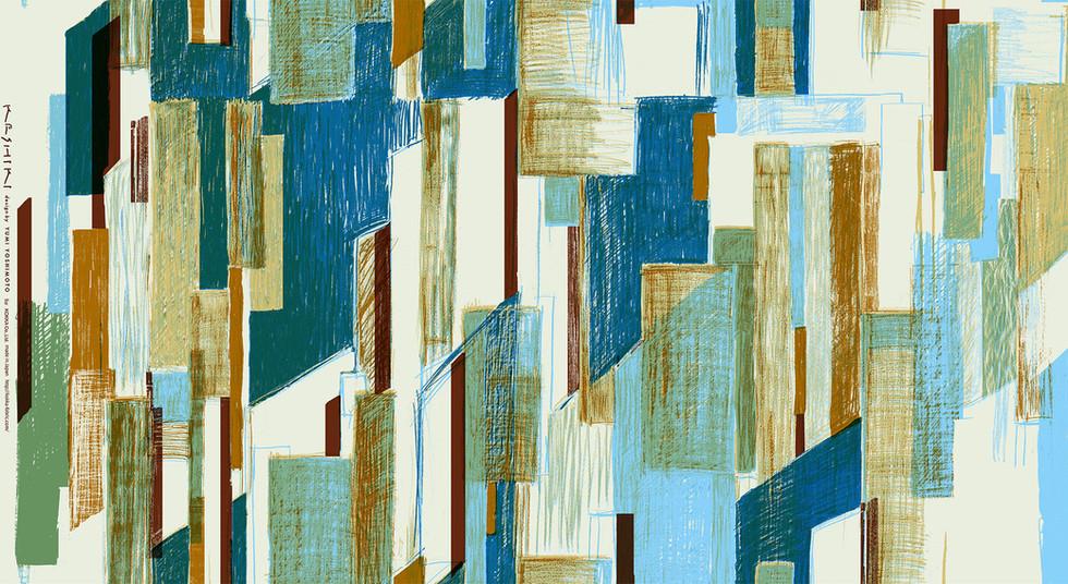 KESHIKI  Print fabric series 3