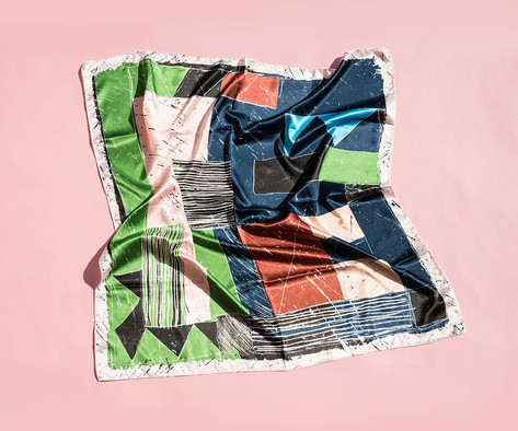 YUMI YOSHIMOTO scarf series