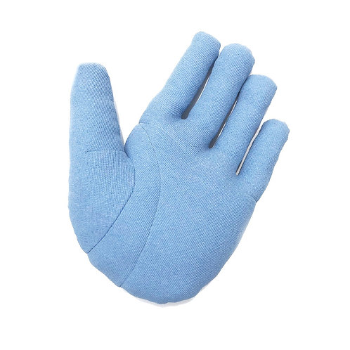 """Fabric object """"Hand"""" L size skyblue"""