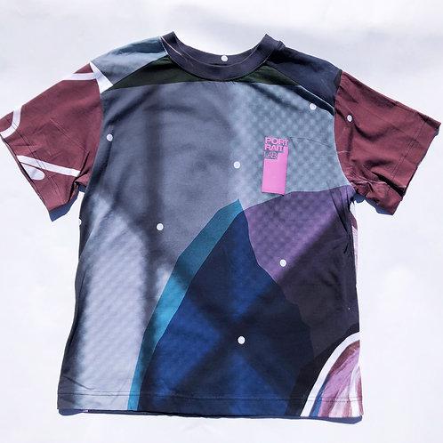 PORTRAIT Print  T-shirt L size PRINT