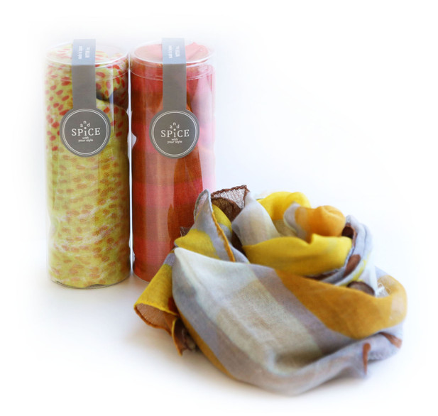 MUTO Co.'Ltd Print scarf design