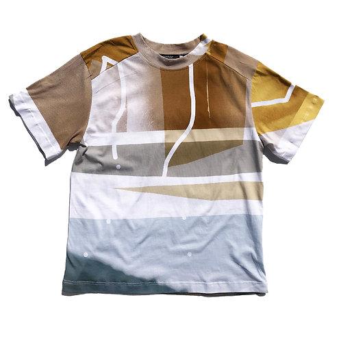 PORTRAIT Print  T-shirt XL size 02