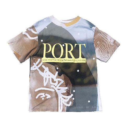 PORTRAIT Print   T-shirt M size PRINT02
