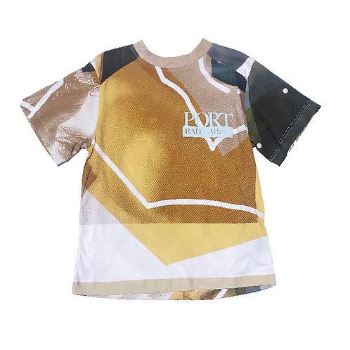 PORTRAIT Print   T-shirt M size PRINT03