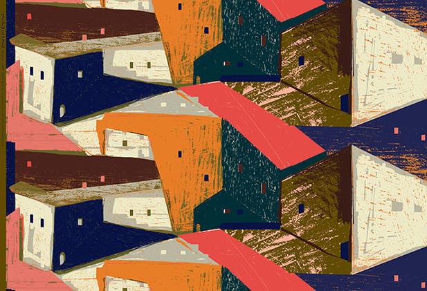 KESHIKI Print fabric series