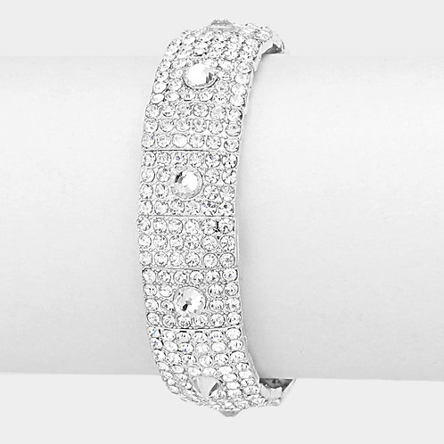 RHINESTONE EVENING BRACELET