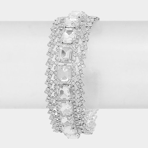CRYSTAL EVENING BRACELET
