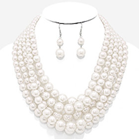 Multi Strand Pearls