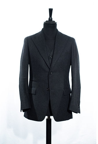 Signle - Breasted Flannel Suit