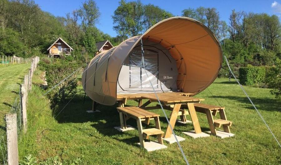 DK'Bane XL - Sand roofGray inner tent