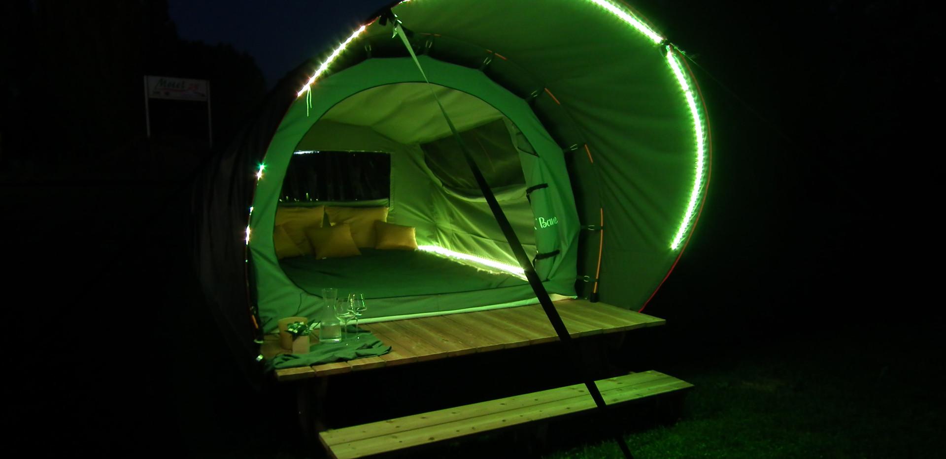 DKBANE MINI - de nuit - option calotte eclairée