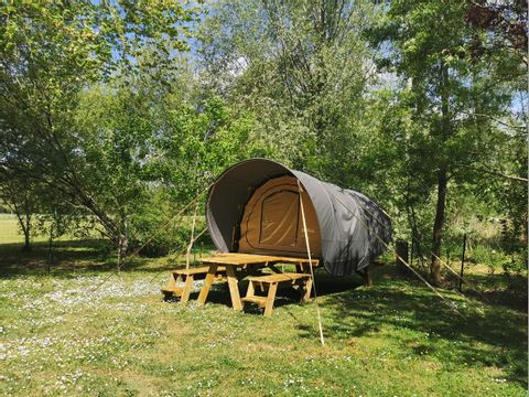 DK'Bane XL: Anthracite roof and sand inner tent