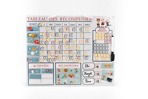 MON TABLEAU DES RECOMPENSES