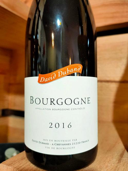 Bourgogne Rouge domaine David Duband