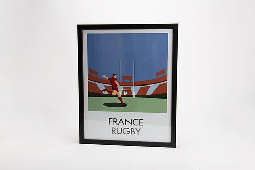 Affiche france rugby
