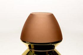Vase base doree