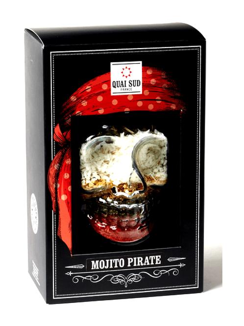 Mélange pour mojito pirate tasse tête de mort