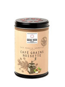 Café arabica aromatisé à la noisette en grains