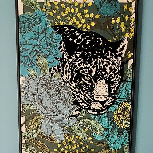 Toile guepard 60x80cm