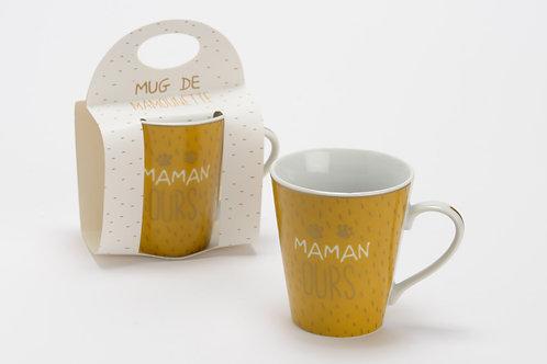 Coffret mug maman ours