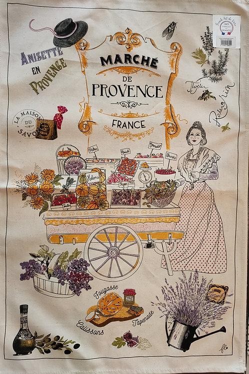 """Torchon thème """"Provence"""""""