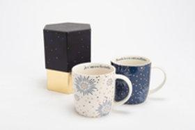 Mug illumination blanc