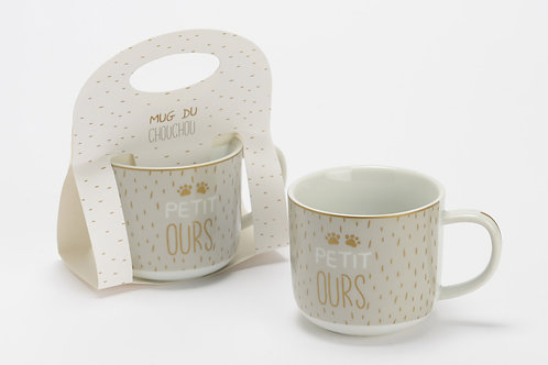 Coffret mug petit ours