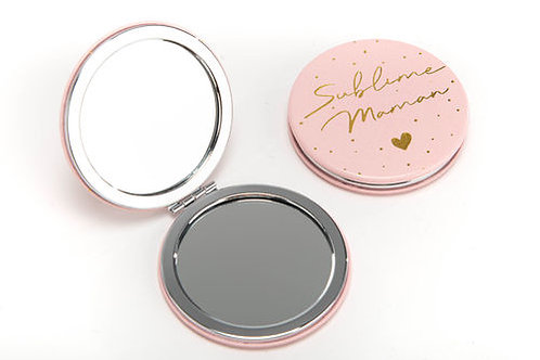 "miroir de poche  ""sublime maman"""