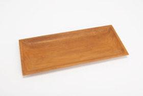 Plat rectangulaire teck