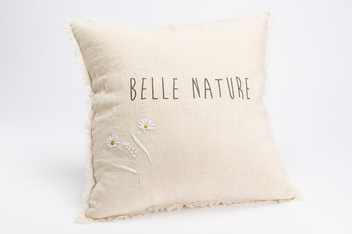 coussin belle nature