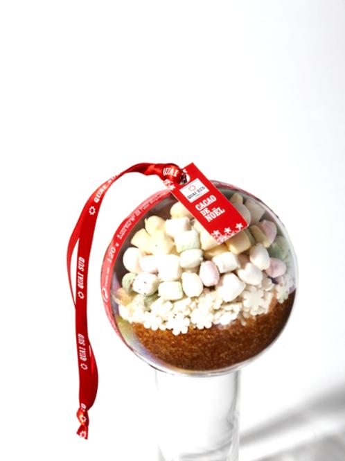 Boule cacao de Noël