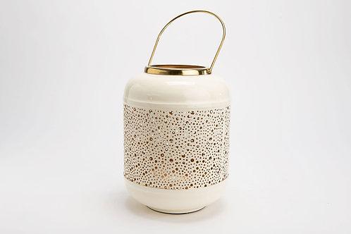 Lanterne blanche h26