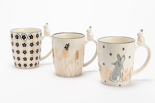 Coffret mug achille 3 designs assortis