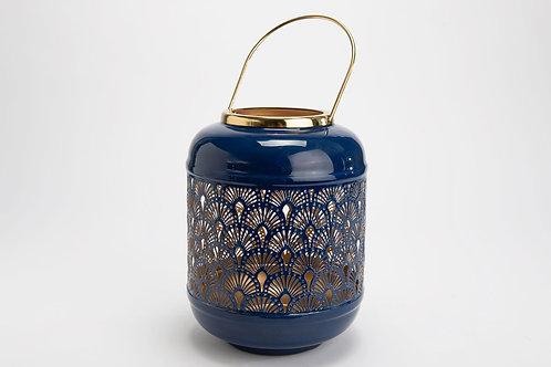 Lanterne bleu h26