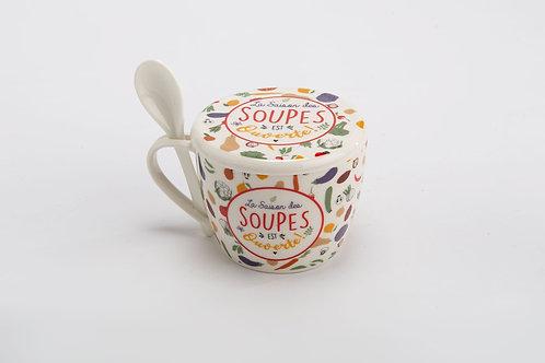 """bol à soupe """"Louison"""""""