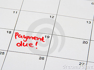 Summer Term Payments Due