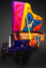 Rodrigue Steinway Blue Dog Piano