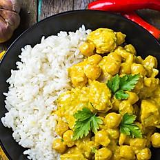 Chicken Curry / Köri soslu Tavuk