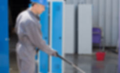 power pressure washing washer cleaning business estimate storefront drive-thru through parking lot sidewalks store