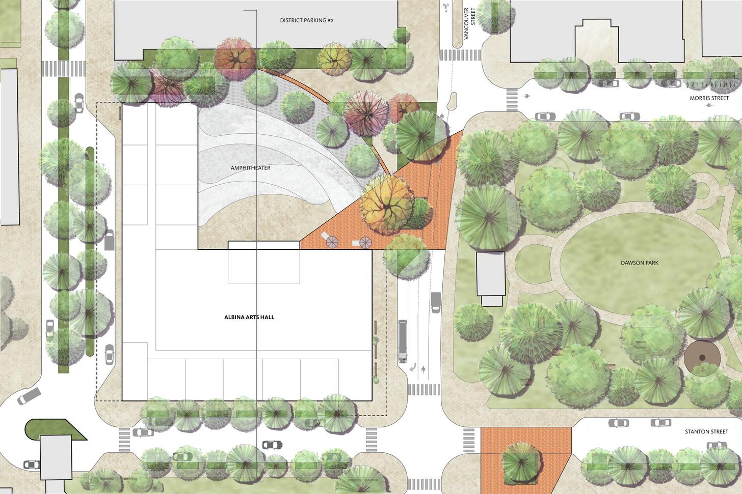 Art Ampitheater Plan
