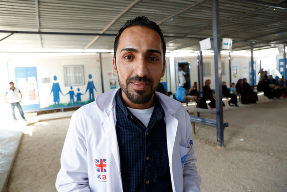 Help refugee doctors work in the NHS