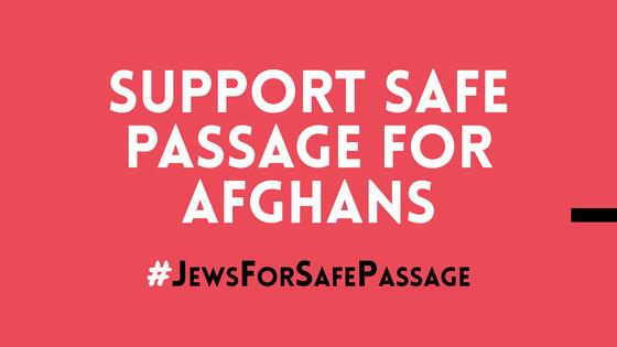 Jews for Safe Passage for Afghan Refugees
