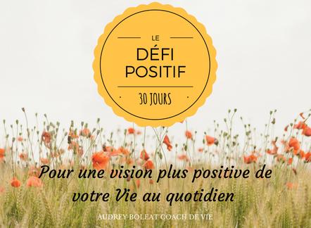 Défi Positif 30 Jours