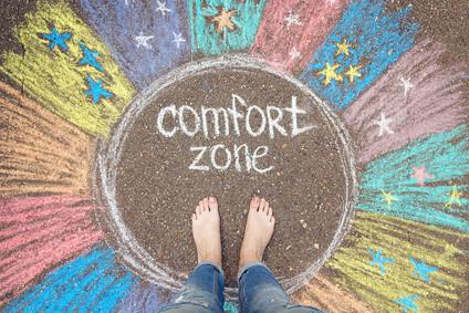 sortir de sa zone de confort facile