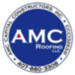 amc roofing with american flag