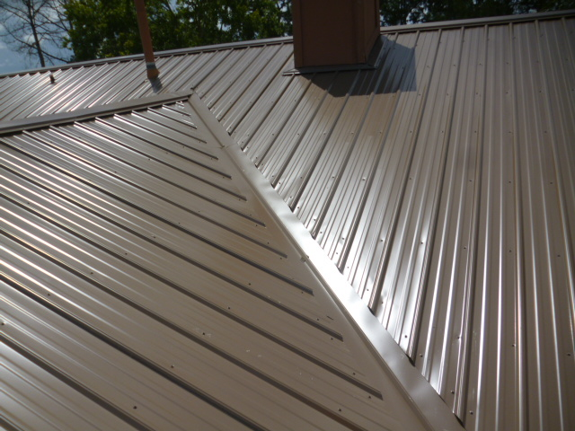 new r panel metal roof chocolate brown winter park seminole county