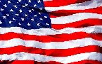 American flag we salute you
